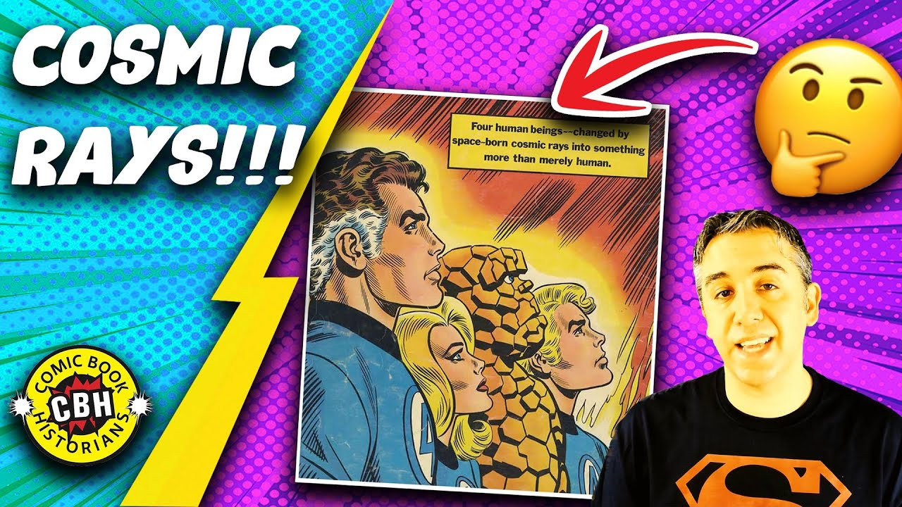 Download Cosmic Rays in Comic Books, 1896-Present : Docuseries 41 by Alex Grand