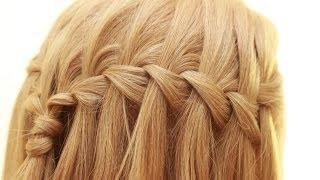 видео Как плести водопад из волос: пошаговая инструкция (фото)