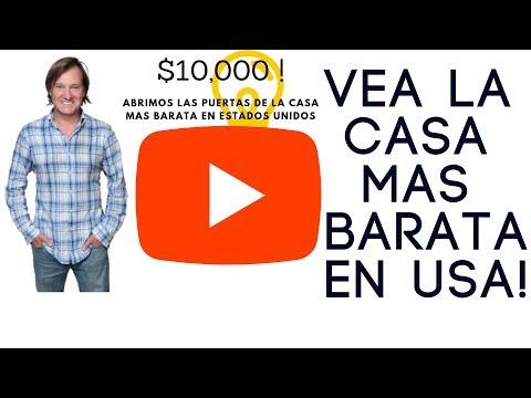 La CASA mas BARATA de ESTADOS UNIDOS !!$$$$$