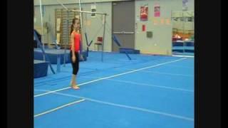 Aspiring 7 yr old Gymnast Tumbling
