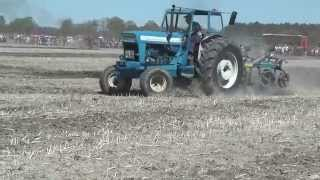 Opened the first time in Gotland speed plowing in Fardhem 2014
