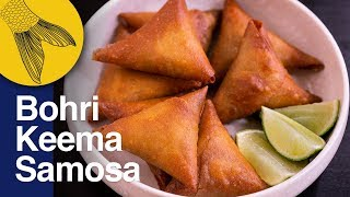 Bohri Keema Samosa—Bakri Eid Special—Make Samosa/Spring Roll Wrapper at Home