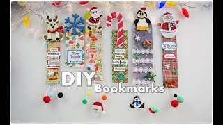 DIY EASY Christmas Bookmarks ❀ Super Cute Kids Craft ❀ Emily's Small World ❀