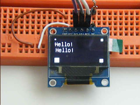OLED Display using U8GLIB library on Arduino Due