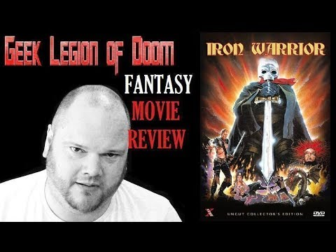 IRON WARRIOR ( 1987 Miles O'Keeffe ) aka ATOR III Fantasy Movie Review