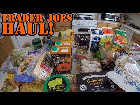 Trader Joes Haul (GoPro)