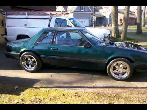 91 Mustang Notchback 5 0 Supercharged Built Youtube