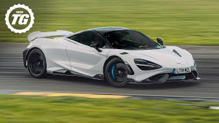 FIRST DRIVE: McLaren 765LT: Flat out on track in the latest longtail (4K)   Top Gear