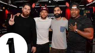 Rudimental cover Rita Ora & Chris Brown - Body On Me in the Live Lounge