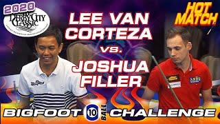 HOT MATCH: Lee Vann CORTEZA vs. Joshua FILLER - 2020 DERBY CITY CLASSIC BIGFOOT 10-BALL CHALLENGE