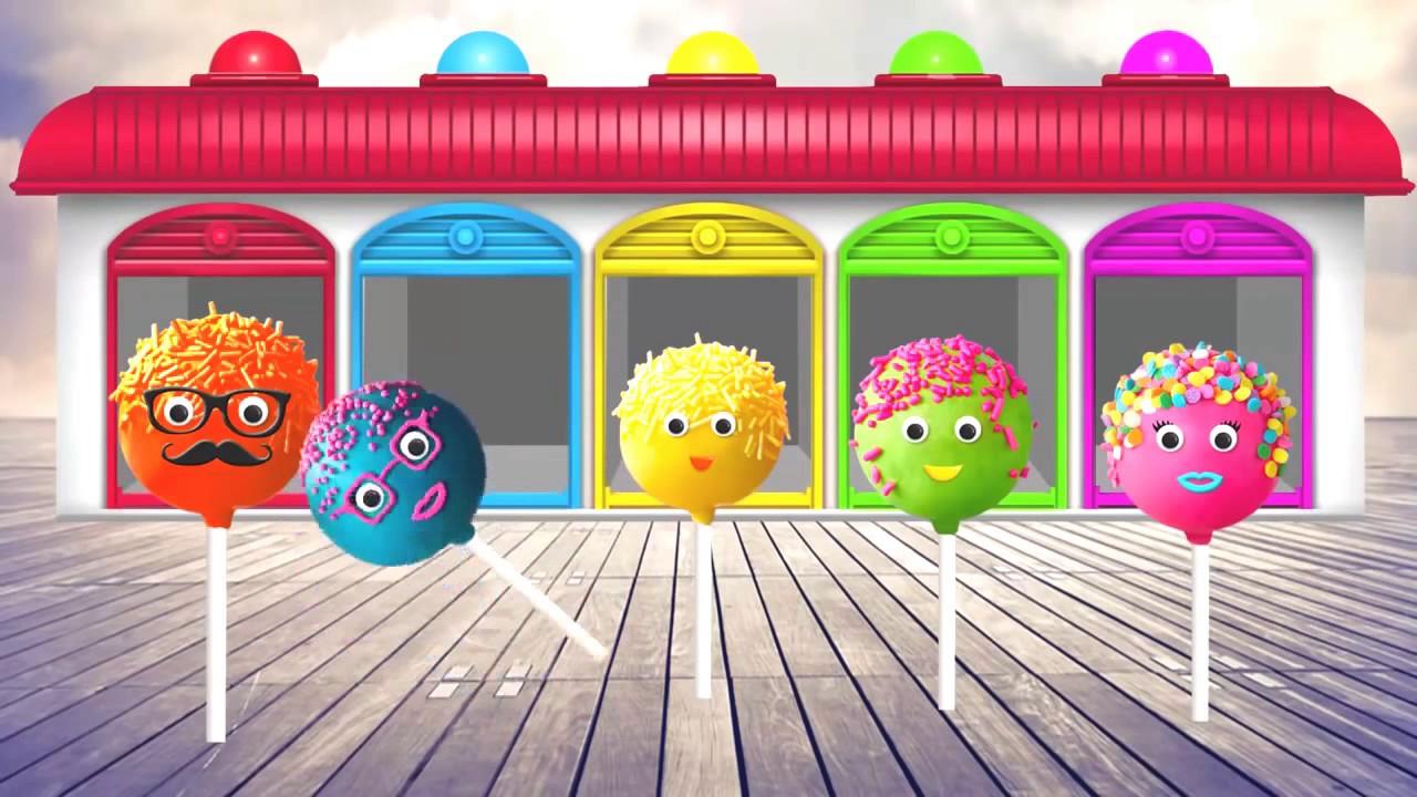 учим цвета на английском для детей - YouTube