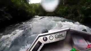 Alaska mini jet boat river run