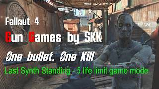 Fallout 4 Gun Games by SKK - last synth standing mode