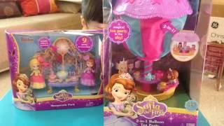 (美國玩具介紹)迪士尼小公主蘇菲亞二合一熱氣球茶會組/空中茶会 Disney Sofia balloon tea party playset