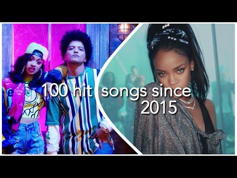 100 HIT SONGS SINCE 2015 (READ DESCRIPTION)