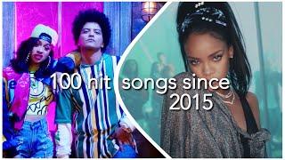 100 HIT SONGS SINCE 2015 READ DESCRIPTION