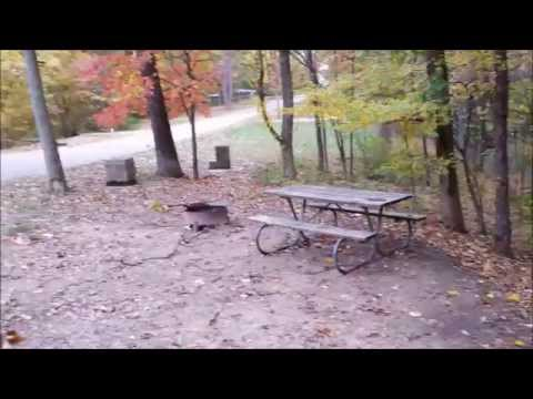 RV Trip - Arriving at Hocking Hills State Park Campground (Ohio)