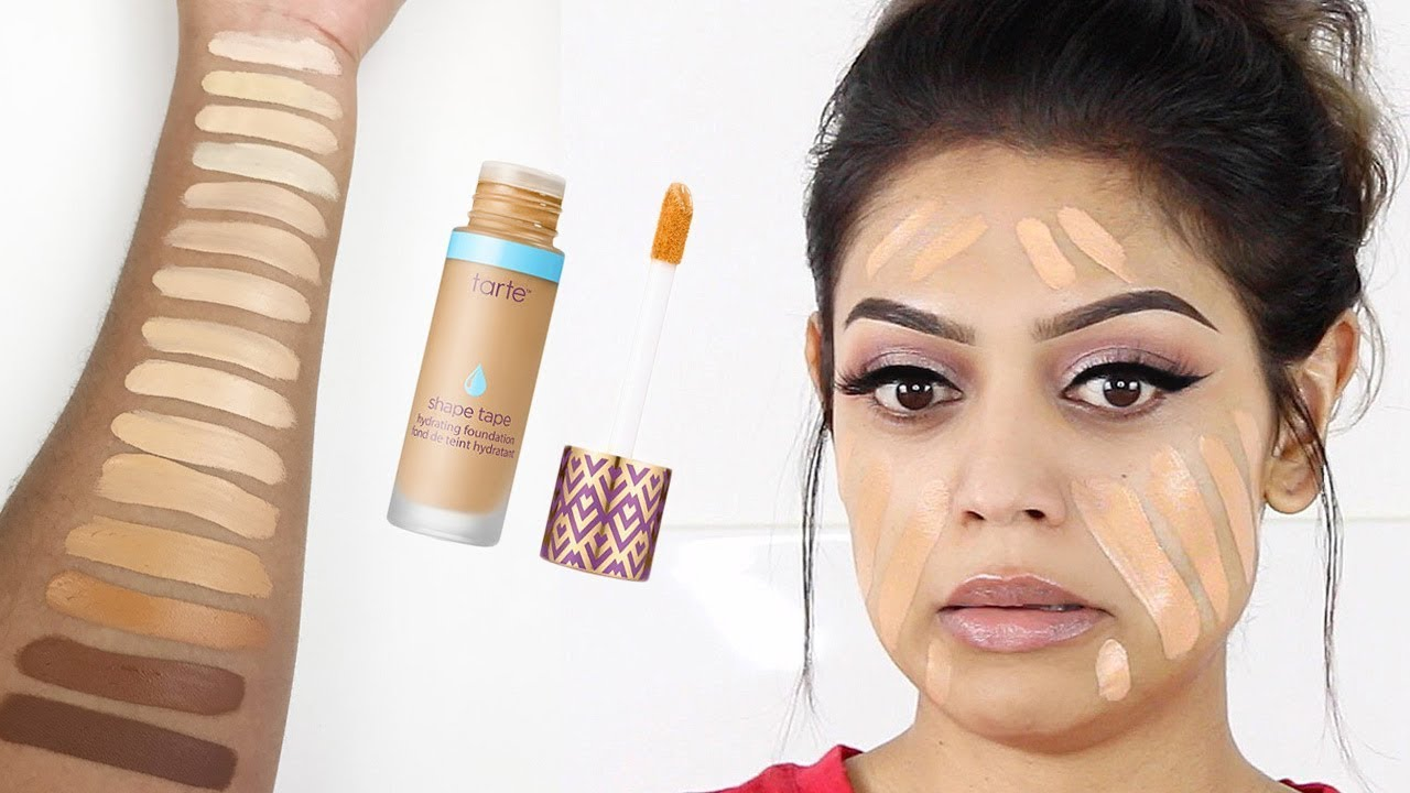 Face Tape Foundation by Tarte #10