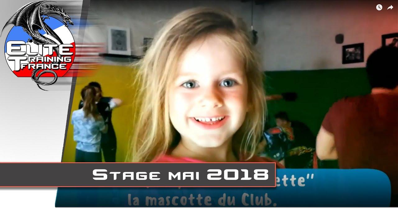 Elite Training France - Stage mai 2018