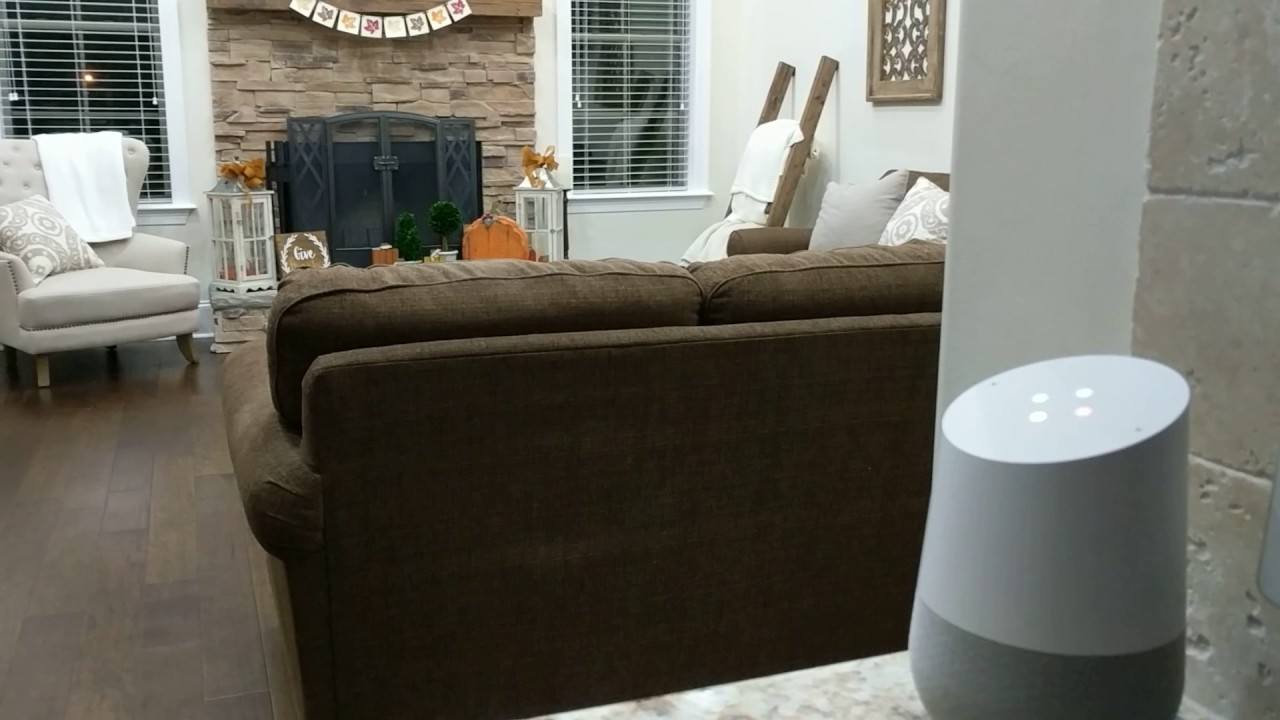 Google Home Turning Off Family Room Lights Youtube