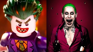 The LEGO Batman Movie in REAL LIFE All Characters