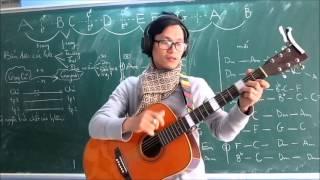 (GPT guitar school) BÀI 15: Dịch giọng đổi tông guitar