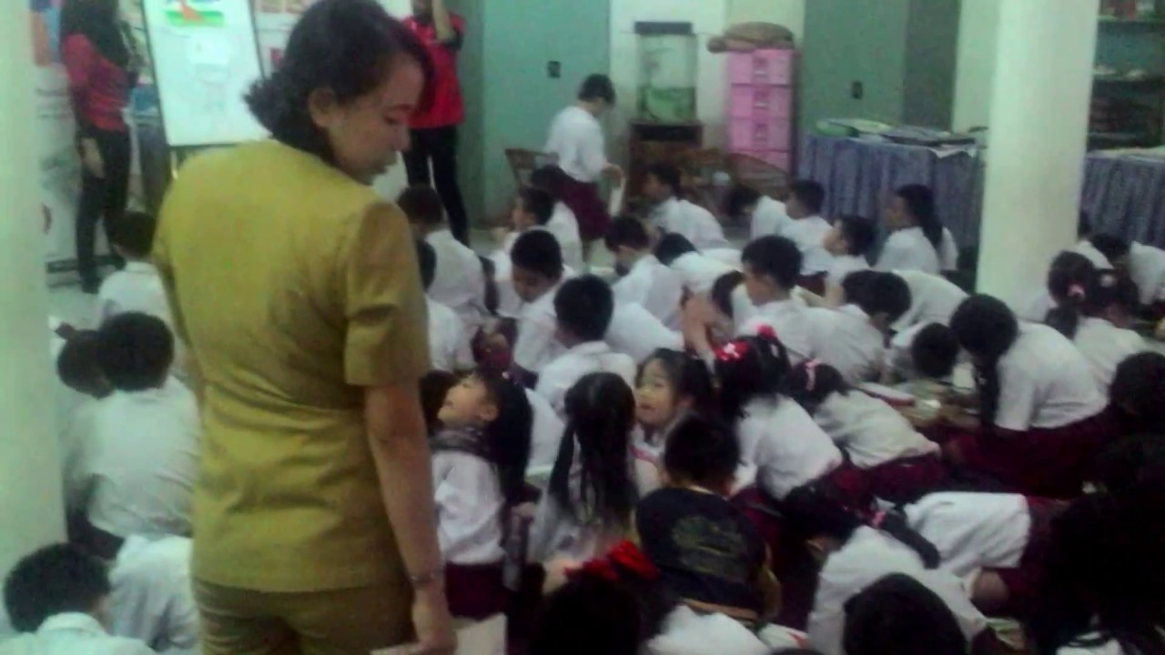 Kegiatan Lomba Mewarnai Kelas 2 Sd Baptis Palembang Bersama Grebel