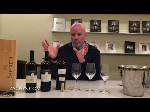 Andrew Tastes Fattoria Le Pupille Saffredi 2015