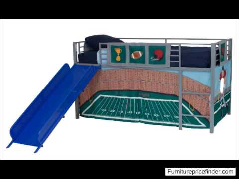 dhp junior loft with slide - youtube