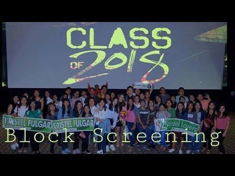 Special Blockscreening for Class of 2018 movie!