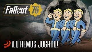 ¡Hemos jugado a Fallout 76!