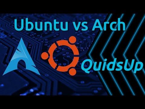 Ubuntu vs Arch Linux