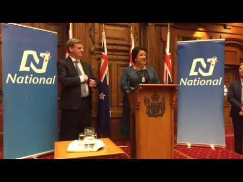 New Zealand National Party Confirm New Prime Minister and Deputy Leader