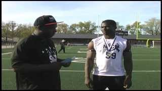 NUC 2013: Aaron Menus Interview, 11th Grade Combine King - Kansas City, Missouri