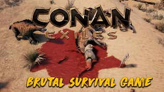 Super BRUTAL New Survival Game! | Conan Exiles Gamplay