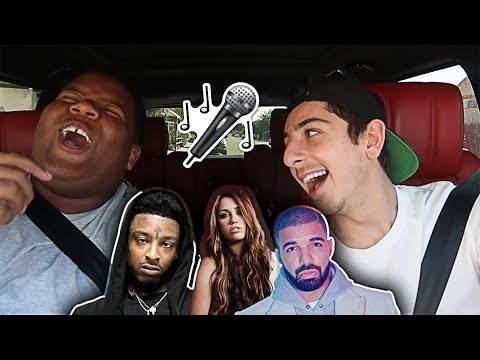 CARPOOL KARAOKE WITH MY BEST FRIEND!! (ft. Marcell) | Vlogs | FaZe Rug