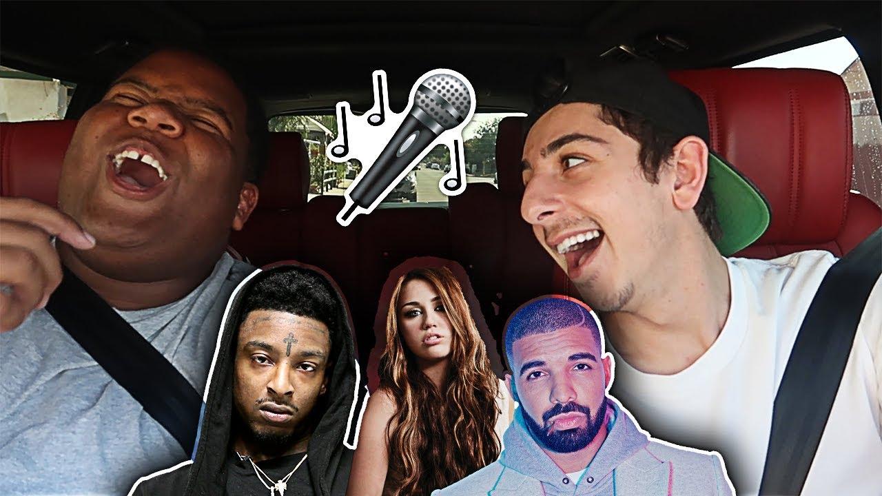 Carpool Karaoke With My Best Friend Ft Marcell Faze Rug Youtube