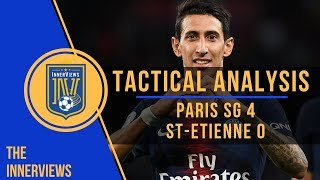 PSG vs AS Saint-Étienne 4-0 | Tactical Analysis | How Saint-Étienne's Organization Frustrated PSG