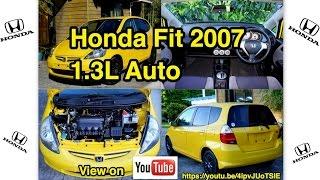 Honda Fit 2007, 1.3L, Auto