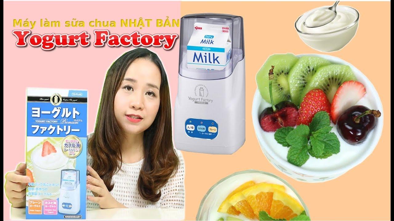 REVIEW ♡ Máy làm sữa chua Nhật Bản Yogurt Factory Premium ヨーグルトファクトリー