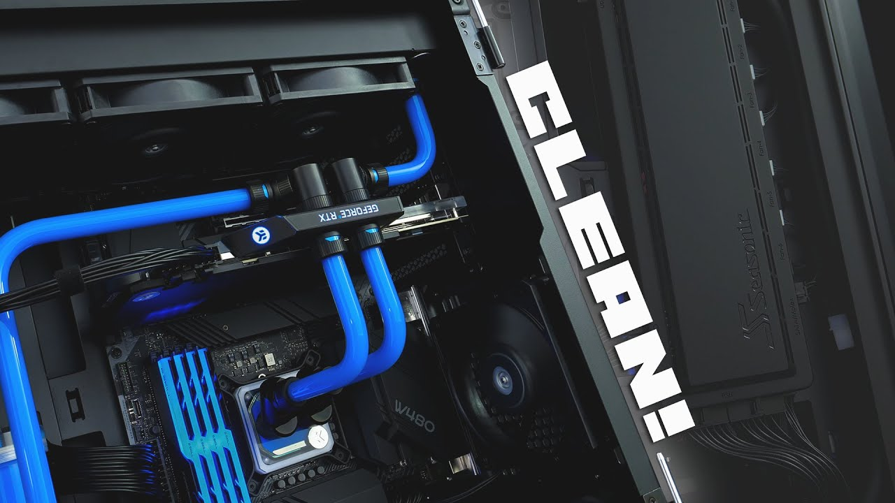 Our CLEANEST Build Ever?? Checking out the new Seasonic Syncro Case