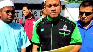 Dewan Pemuda PAS Tawau buat laporan polis terhadap Prof Zainal Keling