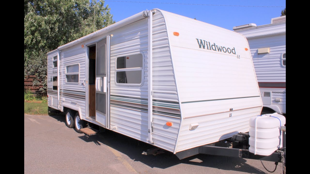 maxresdefault 2003 wildwood le 26bh by forest river stock 16919 youtube Gulfstream Travel Trailer Wiring Diagram at fashall.co
