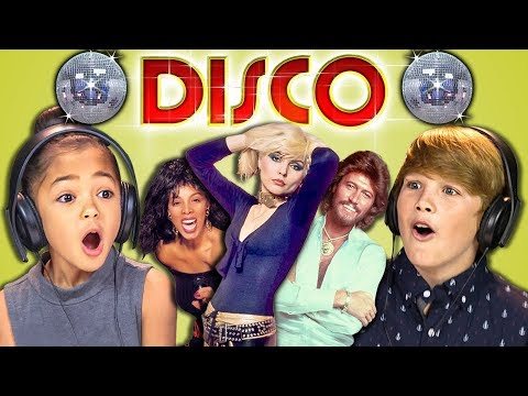 Thumbnail: KIDS REACT TO DISCO SONGS!