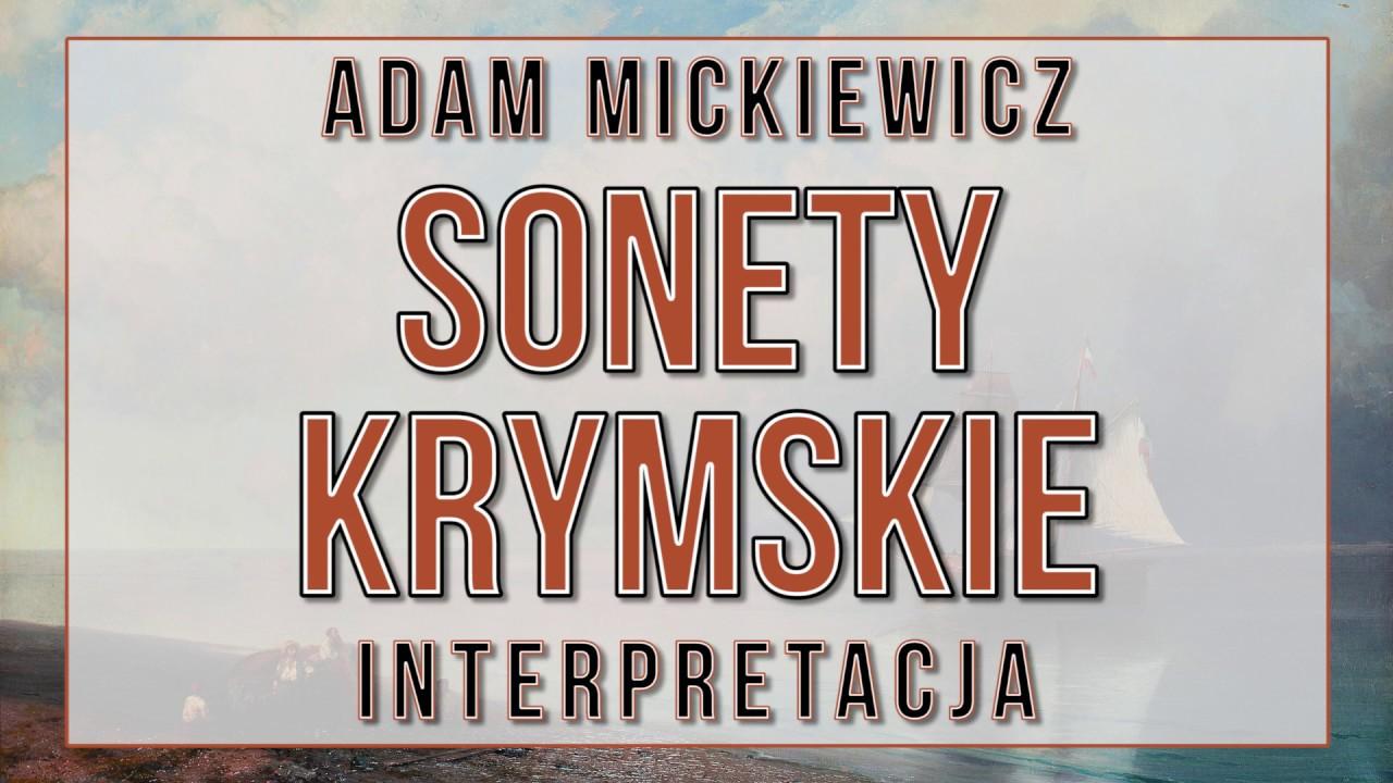 Sonety Krymskie Interpretacja