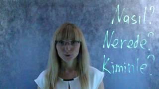 Бесплатный урок по турецкому языку