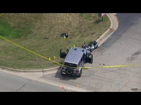 Search continues for man who fled vehicle full of weapons after Imlay City hit-and-run crash