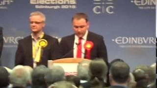 Edinburgh South - General Election Declaration