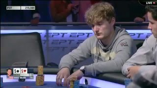 Смотреть покер на русском,  EPT 10 в Монте Карло. Финал.