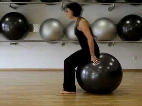 pilates bungen mit dem fitness ball deutsch petra k hner youtube. Black Bedroom Furniture Sets. Home Design Ideas